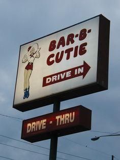 Bar-b-cutie Drive-In....Nashville Tennessee