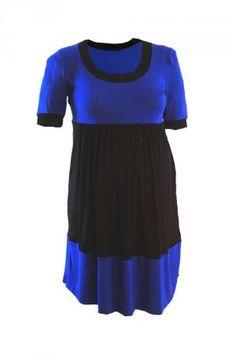 http://www.maternitywear.com.au/plus/dresses/maternity-plus-size-dress-block-colour-stretch-knit