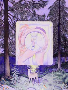 Illustrations, Illustration Art, Animal Drawings, Art Drawings, Fantasy Art Landscapes, Occult Art, Funky Art, Artist Gallery, Oeuvre D'art