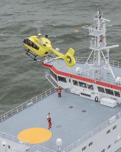 Airbus Helicopters demuestra la capacidad del H145 en misiones offshore