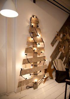 Idée sapin de Noël