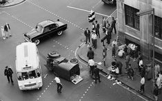 East London street photographer Colin O'Brien keeps it local with this show of stunning black-and-white images drawn from his five-decade career. From a car acc London Today, London Life, London Street, Old London, East London, Vintage London, Smoking In Public Places, Old Vintage Cars, London History