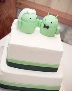 Android Cake ohh! thank you @Esteban Contreras