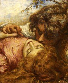 Henry John Stock - The Kiss, 1894