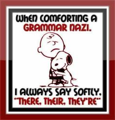 I is not a grammar nazi, but I know many persons who are.