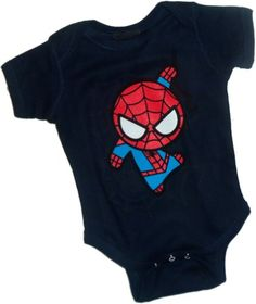 Curvy Web — Spider-Man Infant Onesie Snapsuit, « Clothing Impulse