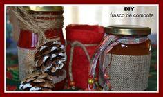 Como decorar frascos de compotas