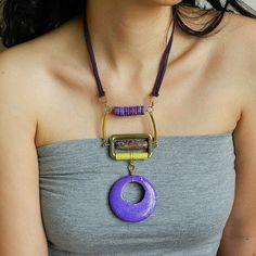 Futuristic bib necklace  modern statement by osofreejewellery, $85.00