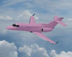 Pink airplane. I want one