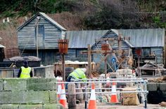 Sleepy Ayrshire village Dunure transformed into dramatic film set for smash hit TV series Outlander S3 filming - Daily Record