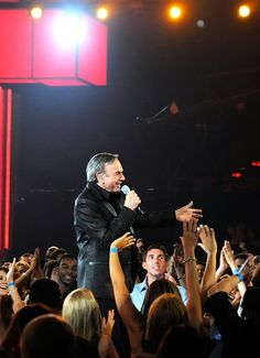 Neil Diamond performs during the 2011 Billboard Music Awards at the MGM Grand Garden Arena in Las Vegas on May 22nd, 2011
