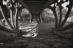 Woody Campbell- cast iron Art Noeveau bridge - Central Park, New York  http://www.woodycampbell.com/#