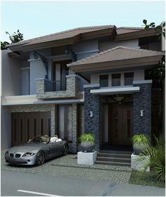 desain Rumah minimalis tingkat 2