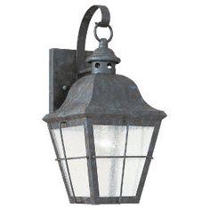 8462-46,Single-Light Chatham Outdoor Wall Lantern,Oxidized Bronze