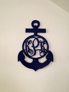 Custom Anchor Monogram your joking me right this decides me to a T! Anchor Monogram, Bar Coasters, Small House Decorating, Wood Creations, Cottage Design, Vinyl Projects, Nautical Theme, Delta Gamma, Crafty