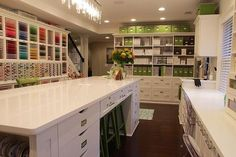 #craft #storage and #organization ideas: The PaperMint | Keisha Charles | Stationery and Memory-keeping crafts | My Field of Dreams: A Photo-tour of The PaperMint Crafting Studio