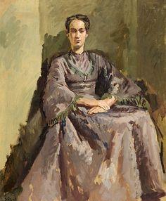 Portrait of Angelica Garnett, 1940, Duncan Grant