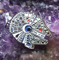 Star Wars Millennium Falcon Hat Pin Lapel Pin Enamel Pin ... http://www.amazon.com/dp/B01AFOLYI2/ref=cm_sw_r_pi_dp_2xjvxb0YV0PQH