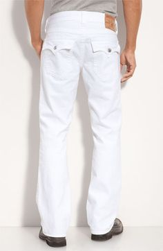 True Religion Brand Jeans  Ricky  Straight Leg Jeans (Optic Rinse Wash)  available ac0f247da3b