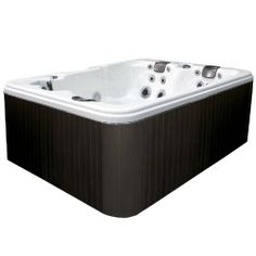 Coleman CO-534L-A 3-Person Spa, Sterling Silver - http://swimspadeal.com/featured-brands/coleman/coleman-co-534l-a-3-person-spa-sterling-silver/