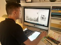 For Five Quills publishing: 10 Facts About Illustrator James Brown - edited by Janey Robinson