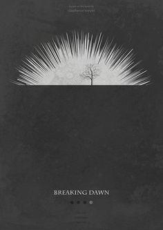The Twilight Saga: Breaking Dawn - Part 1 (2011) ~ Minimal Movie Poster by Mads Svanegaard #amusementphile