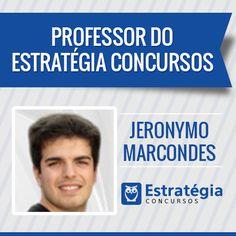 Jeronymo Marcondes é professor de Economia, Finanças Públicas, Econometria Economista, Mestre e Doutor em Economia Aplicada pela Universidade de São Paulo (USP). Auditor Fiscal do Trabalho. https://www.estrategiaconcursos.com.br/professor/jeronymo-marcondes-3274/