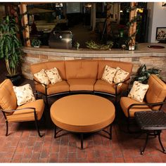 Step up to Luxury with a Patio Furniture Set From The Select Line of Agio