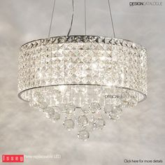 Our #LED Modern Chandelier #Light creates calm environment that touch any one's heart.