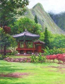 Kepaniwai Heritage Gardens in Iao Valley, near Maui