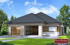 Projekt domu Selene VI , wizualizacja 1 House Layout Plans, Bedroom House Plans, Dream House Plans, Small House Plans, House Layouts, My Dream Home, Village House Design, Village Houses, Philippine Houses