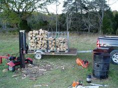 IBS Tote Firewood Rack
