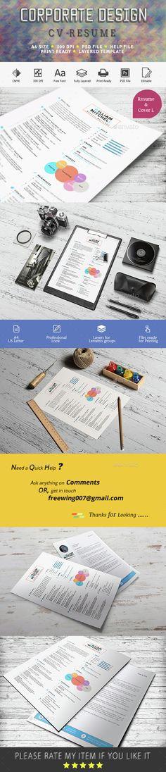 Resume   CV   Cover Letter Pack Cv cover letter, Resume cv and - simple resume cover letter