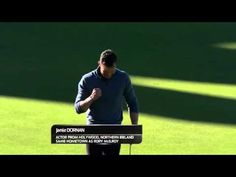 Jamie Dornan - Alfred Dunhill Links 2015 (18th hole eagled) - YouTube
