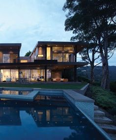 Freshome - Google+ - House in LA With Dramatic Panoramic Views: Mandeville…
