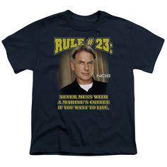 NCIS RULE 23 Youth Short Sleeve T-Shirt