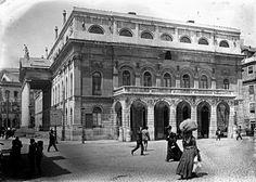 teatro nacional d maria ii - Pesquisa Google Photos, Louvre, Street View, Building, Travel, The World, Campo Grande, Monuments, Teatro