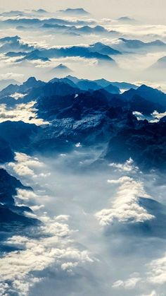 Alps mountains view from above Iphone Wallpapers Hd - Best Home Design Ideas