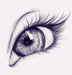 Real Colored Eye Drawings of Lady Drawn with Pencil Drawing .-Karakalem ile Çizilmiş Bayan Gerçek Renkli Göz Çizimleri ve Teknikleri -… Real Colored Eye Drawings and Techniques of Lady Drawn with Pencil Drawing … the the - Cool Art Drawings, Pencil Art Drawings, Art Drawings Sketches, Realistic Drawings, Art Sketches, Colorful Drawings, Eye Pencil Drawing, Pencil Sketching, Sketches Of Eyes