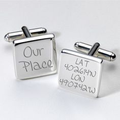 Engraved Page Boy Cufflinks from Personalised Gifts Shop - ONLY Groomsmen Cufflinks, Wedding Cufflinks, Personalized Wedding, Personalized Gifts, Engraved Gifts, Father Of The Bride, Wedding Gifts, Wedding Ideas, Mariage