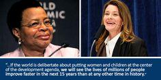 How to make the SDGs Work: Prioritize women and families, say Melinda Gates & Graça Machel: http://ow.ly/KPBpW