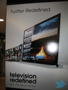 Sony redefines Twitter - Canadian advert