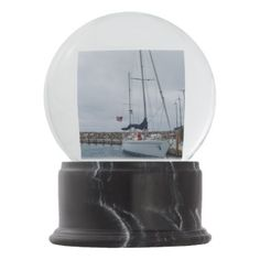 Parked Snow Globe - photography gifts diy custom unique special