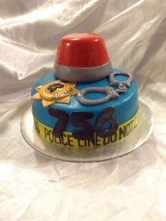Policeman/woman cake