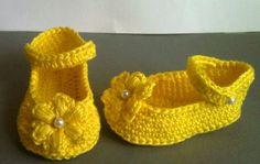 Süße Baby RiemchenBallerinas  von GittisHandarbeiten auf Etsy, €9.90