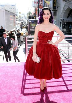 Katy Perry at the premire of her movie!