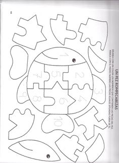 NUMEROS – Espe 2.2 – Webová alba Picasa Baby Quiet Book, Felt Quiet Books, Felt Patterns, Applique Patterns, Infant Activities, Preschool Activities, Teaching Kids, Kids Learning, Quiet Book Templates