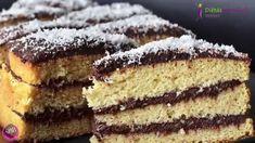 Tökéletes paleo piskóta recept (Fordított Szafi Fitt Paleo Bounty torta) Diabetic Recipes, Diet Recipes, Healthy Recipes, Atkins, Sweet Tooth, Healthy Lifestyle, Food And Drink, Keto, Cooking