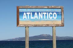 Tarifa Atlantic sea side, Andalusia, Spain