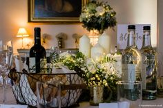 Using a mix of tall & low designs always works well at North Cadbury Court. The Wilde Bunch Country House Wedding Venues, London Bride, Wedding Flowers, Design, Bridal Flowers